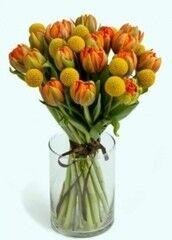 Магазин цветов Florita (Флорита) Букет из пионовидных тюльпанов