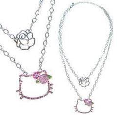 Бижутерия Sanrio Колье слоеное «Hello Kitty» 230146