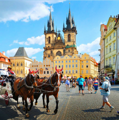 """Туристическое агентство Сэвэн Трэвел Автобусный тур """"Комфорт-тур в Прагу выходного дня"""""""