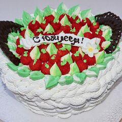 Торт Tortiki.by Юбилейный торт №3