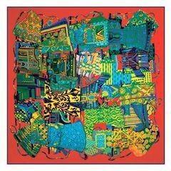 Подарок Schopfer & Shaposhnikoff Платок шелковый «Этна», красный