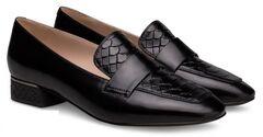 Обувь женская Ekonika Лоферы EN1174-01 black-18Z
