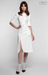 Платье женское Pintel™ Приталенное белое платье EVELINE
