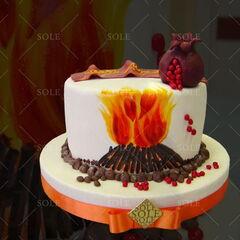 Торт Sole Праздничный торт №35