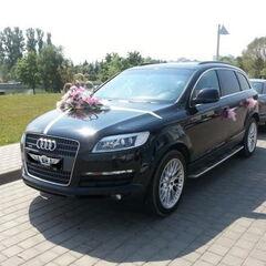 Прокат авто Прокат авто Audi Q7 черного цвета