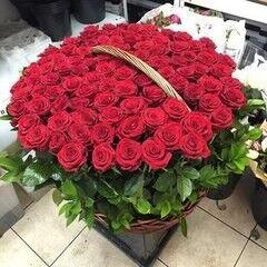 Магазин цветов Cvetok.by Цветочная корзина «Клеопатра»
