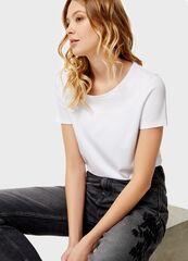Кофта, блузка, футболка женская O'stin Базовая футболка LT6U31-00