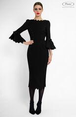 Платье женское Pintel™ Чёрное платье-футляр Taly