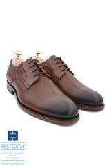 Обувь мужская HISTORIA Мужские туфли классические тонированные коричневые