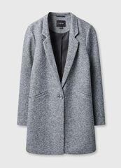 Верхняя одежда женская O'stin Прямое пальто с английским воротником LJ6T3B-95
