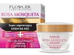 Уход за лицом Floslek Интенсивно регенерирующий ночной крем Intensively regenerating night cream Rosa Mosqueta, 50 мл