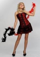 Карнавальный костюм Праздник от золушки Карнавальный костюм «Чертовка» 438