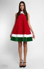 Платье женское Pintel™ Комбинированное мини-платье  Fati