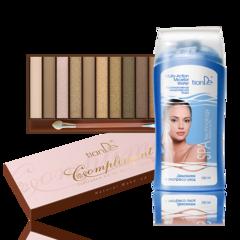 Декоративная косметика tianDe Набор теней для подиумного макияжа и мицеллярная вода