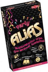 Магазин настольных игр Tactic Настольная игра «Alias Party» компактная версия