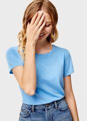 Кофта, блузка, футболка женская O'stin Базовая футболка LT6U31-65