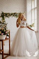 Свадебное платье напрокат ALIZA Платье свадебное «Emmira» Soffito