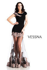 Вечернее платье Vessna Вечернее платье арт.1273 из коллекции VESSNA NEW