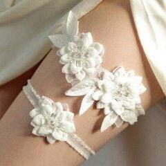 Свадебный аксессуар Bliss Свадебная подвязка Flowers 2