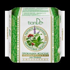 Уход за телом tianDe Прокладки женские на травах «Нефритовая свежесть» супертонкие ежедневные