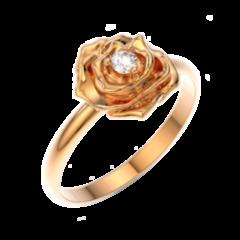 Ювелирный салон ZORKA Кольцо золотое 210502-CR