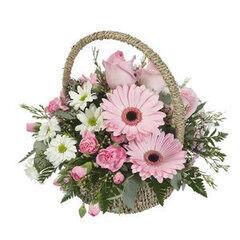 Магазин цветов Cvetok.by Цветочная корзина «Амели»
