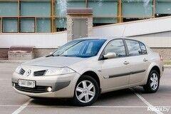 Прокат авто Авто эконом-класса Renault Megane АКПП