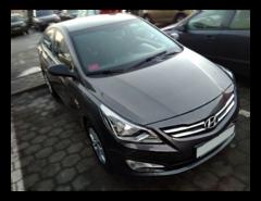 Прокат авто Прокат авто Hyundai Accent (2015 г.в, тёмно-серый металлик)