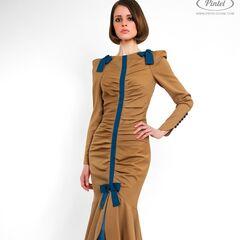 Платье женское Pintel™ Приталенное платье из натуральной шерсти Laurinja