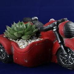 Магазин цветов Stone Rose Красный мотоцикл