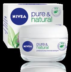 Уход за лицом NIVEA Дневной крем против морщин Pure&Natural
