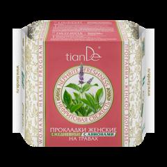 Уход за телом tianDe Прокладки женские на травах «Нефритовая свежесть» ежедневные с анионами