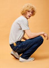 Брюки мужские O'stin Базовые прямые мужские джинсы MPD101-D4