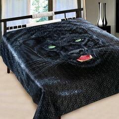 Подарок Марианна Покрывало 3D шелк 200х220 Пантера