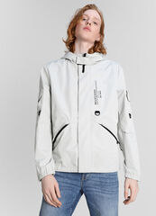 Верхняя одежда мужская O'stin Куртка с капюшоном и принтом MJ6W7C-T0