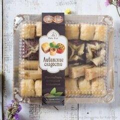 Подарок на Новый год Pate D`or Ливанские сладости ассорти «Беритос», 350 гр