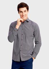 Кофта, рубашка, футболка мужская O'stin Рубашка в микропринт MS4T41-X8