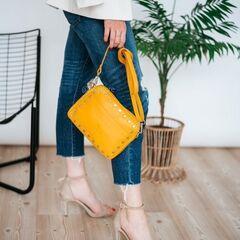 Магазин сумок Vezze Кожаная женская сумка C00509