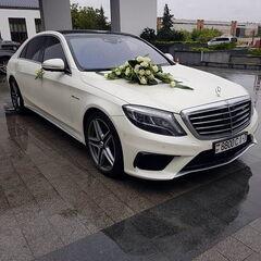 Прокат авто Прокат авто Mercedes-Benz W222 S-Class AMG 63 белый