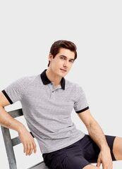 Кофта, рубашка, футболка мужская O'stin Поло из джерси с этническим принтом MT1SB1-00