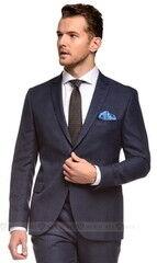 Костюм мужской Keyman Костюм мужской синий в клетку в цвет костюма