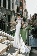 Свадебный салон Bonjour Свадебное платье Kimberly из коллекции La Douceur