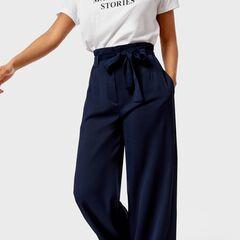 Брюки женские O'stin Широкие  брюки из структурного полотна женские LP1U84-68