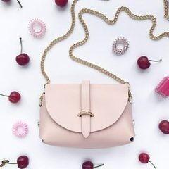 Магазин сумок Vezze Кожаная женская сумка С00175