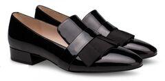 Обувь женская Ekonika Лоферы EN1435-04 black-18Z