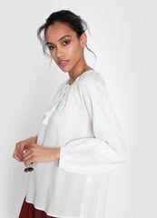 Кофта, блузка, футболка женская O'stin Туника из структурного полотна LS1WA5-02