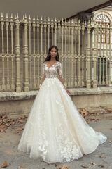 """Свадебное платье напрокат А-силуэт ALIZA свадебное платье """"Evelin"""""""