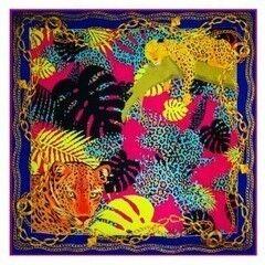 Подарок Schopfer & Shaposhnikoff Платок шелковый «Джунгли»