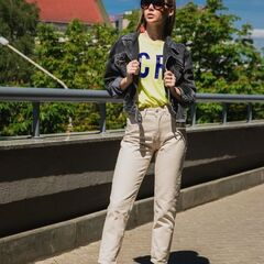 Кофта, блузка, футболка женская It's me! (Это Я!) Футболка в желтом цвете
