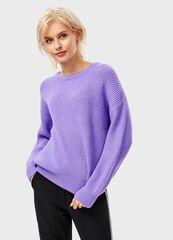Кофта, блузка, футболка женская O'stin Однoтонный джемпер LK4T8C-73